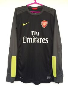 ARSENAL LONDON 2013 2014 NIKE GOALKEEPER FOOTBALL SOCCER SHIRT JERSEY CAMISETA