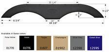 ICON Tandem RV Fender Skirt FS1770, Polar White