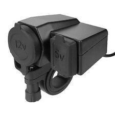 caricatore presa Moto  USB Accendisigari manubrio smartphone cellulare 12v 5v