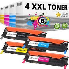 4x XL TONER für DELL 1230C 1235C 1235CN SET Y924J C815K D593K F479K PATRONE
