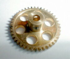 46 Tooth Super Light Brass Spur Gear set screw Boss 48 Pitch NOS Slot Car