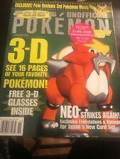 June 2000 Pojo's Pokemon News & Price Guide Monthly Magazine