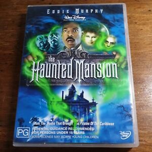 The Haunted Mansion Eddie Murphy DVD R4 Like New! FREE POST