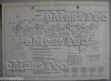 Metz tipo 202 K esquema eléctrico edición 1, stand 01/52