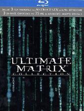 ULTIMATE MATRIX COLLECTION BOX 4 BLU RAY + 3 DVD NUOVO SIGILLATO RARO