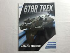 68 FEDERATION ATTACK FIGHTER Eaglemoss STAR TREK Starships Collection MAG ONLY