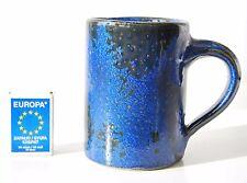 West German pottery cup vase crystalline glaze hand made century vintage modern