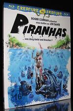BLU-RAY PIRANHAS - CREATURE FEATURE - 1978 - Piranha-Horror von JOE DANTE * NEU