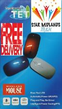 NEW TOP and EASY TECH Wireless  Mouse Easy Compact PC Laptop  and MAC UK STOCK