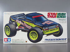 New Vintage NIB 1/10 RC Tamiya Stadium Thunder Racing Truck (58181)
