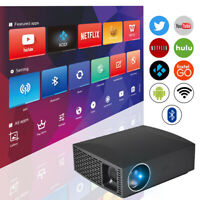 Full HD Native 1080p Beamer Heimkino LED Video Projektor Android Bluetooth WiFi