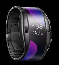 ZTE Nubia alpha Smart Watch Wifi foldable display Flexible wrist Mobile bracelet