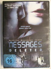 MESSAGES DELETED - DVD - OVP