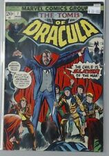 THE TOMB OF DRACULA MARVEL COMIC BOOK #7 CHILD IS SLAYER OF THE MAN