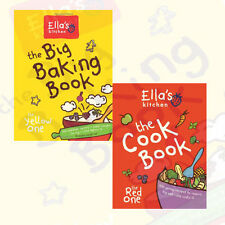 Ella's Kitchen Collection 2 Books Set Pack (The Big Baking Book ,The Cookbook)AU
