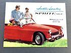 1962 1963 Austin Healey Sprite Mark II Original Car Sales Brochure Catalog