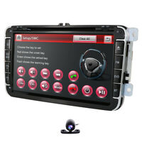 "8"" Car DVD GPS Navigation Head Unit Stereo Radio For VW Amarok 2011-2016 TIGUAN"