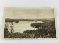 Vintage Canada Cache Lake From  Skymount, Algonquin Provincial Park,Ontario