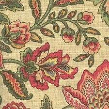 Mill Creek Raymond Waites LOYLA CHAMPAGNE Floral Home Decor Drapery Fabric BTY