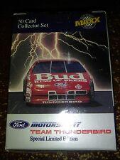 Ford Motorsports Team Thunderbird 1992 Maxx 50 Card Set NASCAR New Sealed