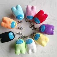 Plush Among Us Keychain Christmas Gift Stuffed Halloween Xmas Gift