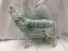 Call of the Wolf White Wolf Large 2005 #14136 Westland Giftware Figurine