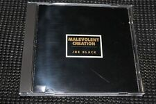 MALEVOLENT CREATION Joe Black CD 96 Monstrosity Deicide Pestilence  Sadus