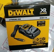 Dewalt Dcb119 10.8V, 14.4V & 18V Xr 20V Max Li-Ion Vehicle Battery Charger Eu
