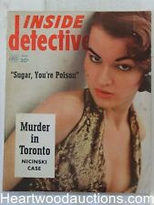 """""""Inside Detective"""" March 1952"""