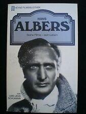 CINEMA. Hans Albers par von Uwe-Jens Schumann