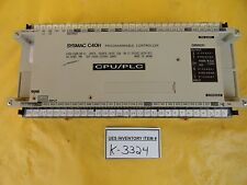 Omron C40H-C6Dr-De-V1 Programmable Controller Sysmac C40H Used Working