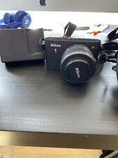 Nikon 1 J3 14.2MP Digital Camera - Black with1 NIKKOR VR 10–30mm lens