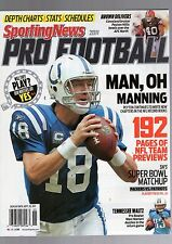 2011 SPORTING NEWS PRO FOOTBALL YEARBOOK-PEYTON MANNING-INDIANAPOLIS COLTS
