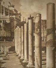K0375 Roma - Colonne del Foro Traiano - Immagine fotografica ( Avv. Biagini)