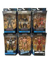 Marvel Legends Series 2018 Black Panther Complete Set of 6 Okoye Build A Figure