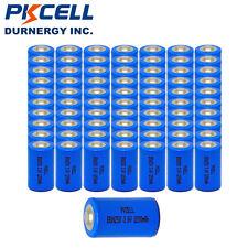 50 3.6V 1200mAh ER14250 LI-SOCl2 1/2AA Size Lithium Battery Batteries Wholesale