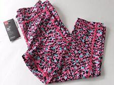 "Under Armour UA HeatGear Compression Multi Animal Print 18"" Capri Pants, size S"