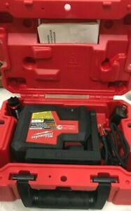 Milwaukee 3510-21 REDLITHIUM USB Rechargeable Green 3-Point Laser-150' Range, LN