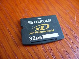Fujifilm 32mb xD Picture Card Fujifilm Kodak Olympus