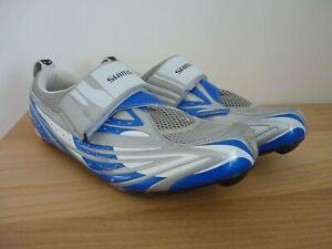 Shimano TR51 Triathlon Cycling Shoes UK 8 Eu 43