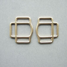 Solid Brass 3 sided Square Buckles for Horse Halter bridle Hardware Accessories