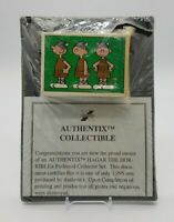 1995 Authentix Hagar the Horrible 50 Trading Card Set With Binder and COA Sealed