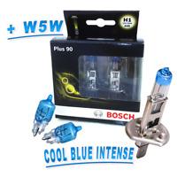 Bosch H1 Lampe plus 90% mehr Licht 2St. + 2 x Osram W5W Cool Blue Intense