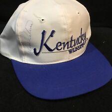 RICK PITINO HEAD COACH BASKETBALL KENTUCKY WILDCATS AUTOGRAPHED BASEBALL CAP HAT