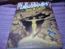 Dragonsdawn by Anne McCaffrey 1st Ed SIGNED By Author & Michael Whelan