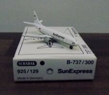 Schabak 925/129 Boeing 737/300 Sun Express Turkish Airline 1:600 Scale Mint Box