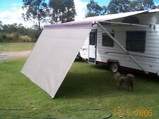 Shade Curtain/Privacy Screen for Your caravan R/out Awning 2.1x5m Grey(6.9x16ft)