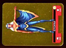 LAMINCARDS MARVEL HEROES 2008 CARTE Dorée N° 158 STORM TORNADE