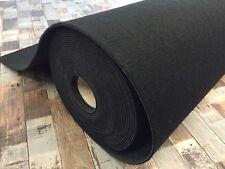 Autoteppich Meterware Automobil-Qualität schwarz für PKW Innenraum & Kofferraum