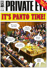 PRIVATE EYE 1355 - 13 - 20 Dec 2013 - House of Commons - IT'S PANTO TIME!